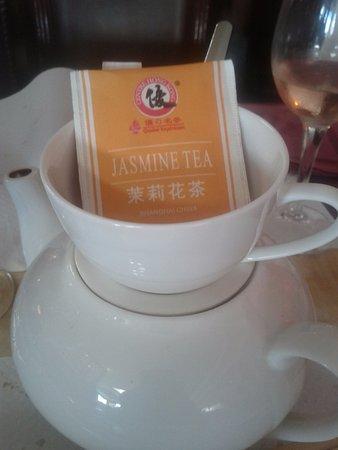Au Pavillon des Délices: thé au jasmin