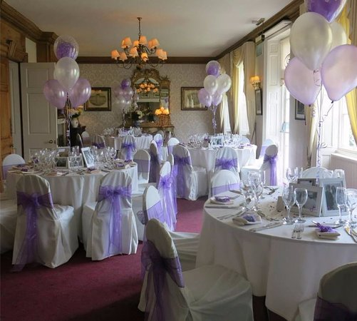 Little Weighton, UK: Wedding Set Up