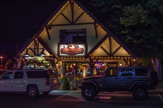 Peppercorn Grille: Front of Restaurant