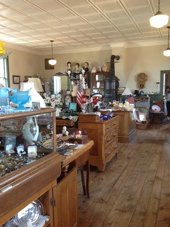 Wittenberg, WI: Interior of Nueske's District No. 3 Antiques (1)