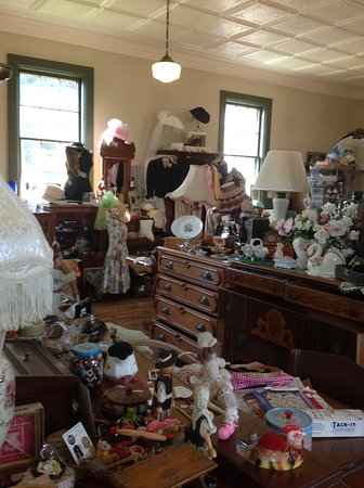 Wittenberg, WI: Interior of Nueske's District No. 3 Antiques (2)