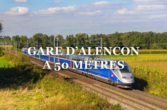 Valframbert, Франция: gare