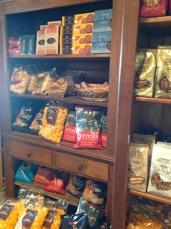 Wittenberg, WI: Nueske's (Dry goods display)