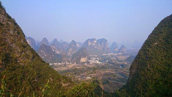 Moon Hill: Utsikt från toppen av klättringen