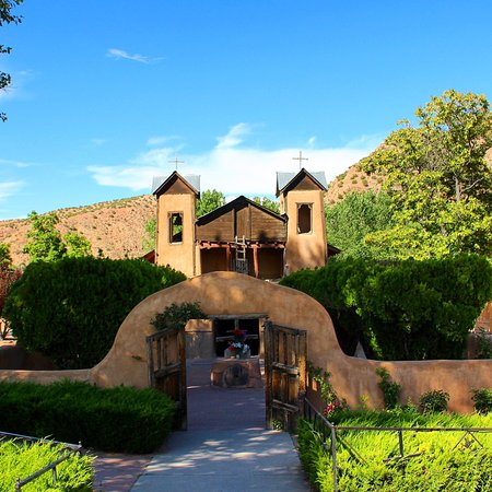 Chimayo, NM: A very charming, historical, spiritual place! Well worth the side trip to see, midday is best.