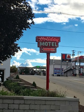 Holiday Music Motel: Retro motel, a great place to stay.