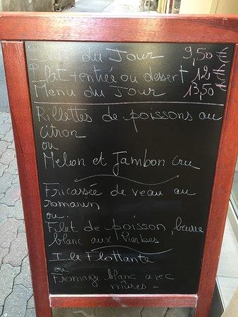 Photos devanture et du menu complet - Le Kitchen et compagnie ...
