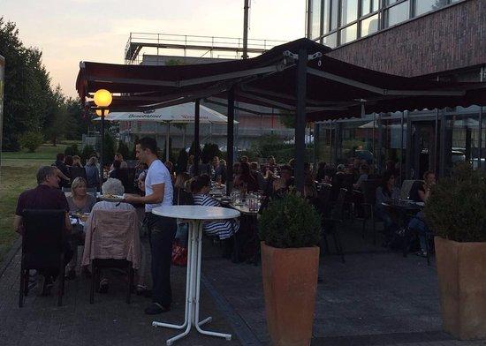 Roxel, Duitsland: Im Sommer draussen geniessen