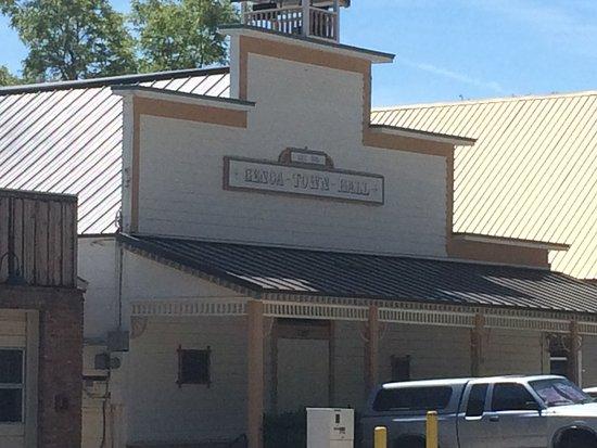Wild Rose Inn: Old genoa town hall across the street from the Inn