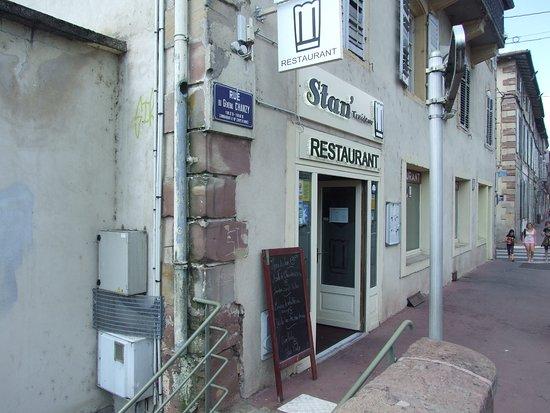 Stan' traiteur Restaurant : Petite facade mais grand bonheur