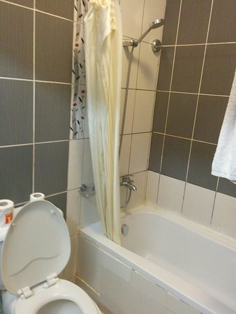 Hotel Sapphire: The bathroom was in need of a slight update and better cleaning