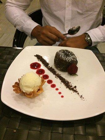 Dessert coulant choco