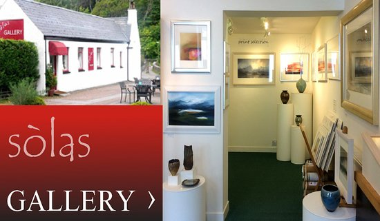 Gairloch, UK: Solas Fine Art Gallery