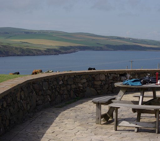 Mull of Galloway, UK: Outside seating