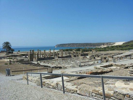 Costa de la Luz, Hiszpania: Spiaggia vista dagli scavi