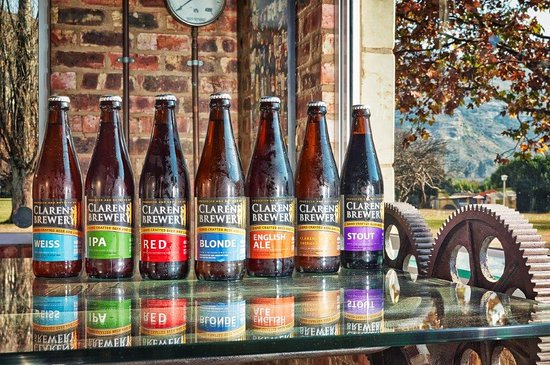 Clarens Brewery: Our bottles are rather cool too