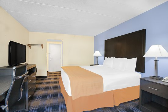 Days Inn Wilkes Barre: King Bed