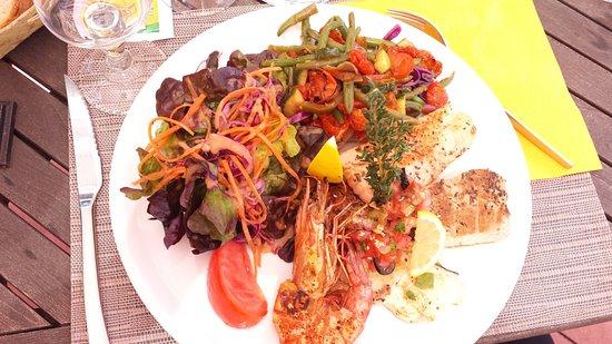 L' Antre Amis: poissons+camarons
