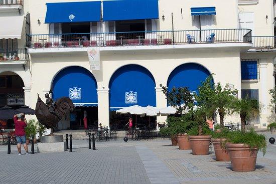 Cafe El Escorial: le coq est sa ballerine à la fourchette