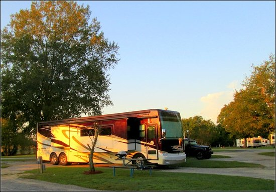 Lumberton I-95 KOA RV Park : All Pull-Thru Sites Big Rig Friendly