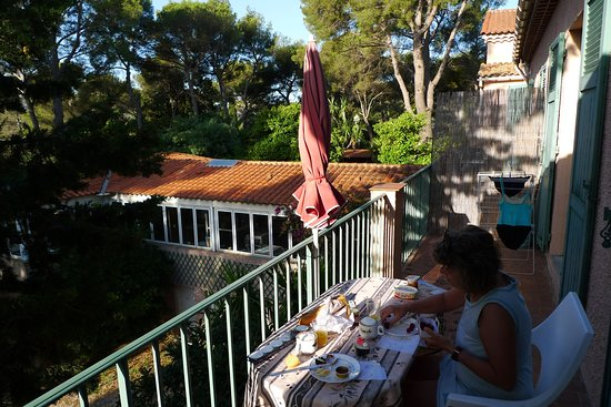 Hotel residence de la Mer: Balkon