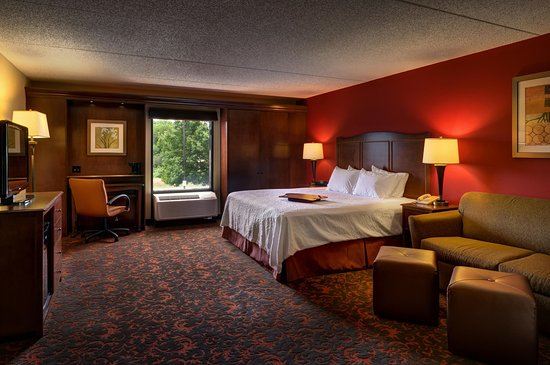 Hampton Inn Chambersburg : King Study Room