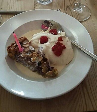 The Riverford Field Kitchen: Birthday dessert!