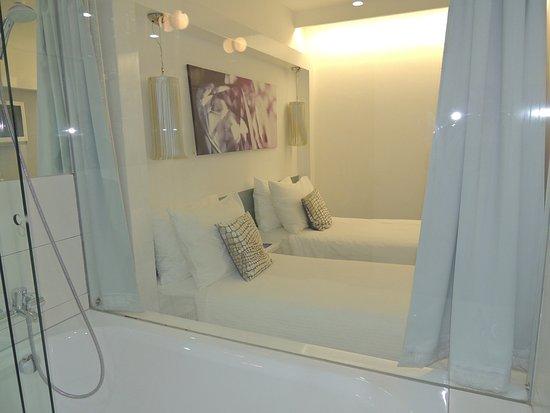 Hotel Luxe: banheiro com banheira