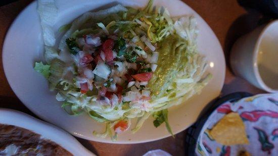 Rancho Viejo: My salad