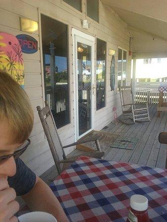 Rodanthe, NC: Front porch