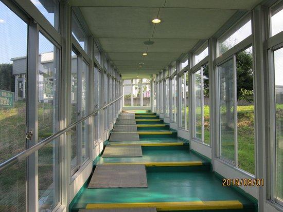 Tanagura-machi, اليابان: クアハウスへのアプローチ