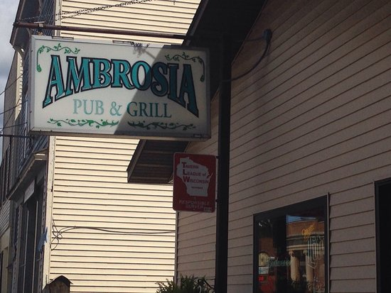 ‪‪Amherst‬, ‪Wisconsin‬: Ambrosia Pub & Grill‬