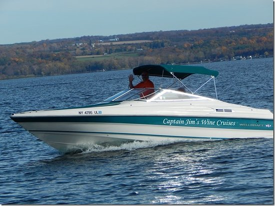 Ovid, Nowy Jork: Capt. Jim's 26 foot Wellcraft 260 Eclipse