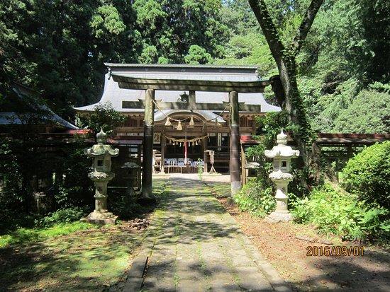 Tanagura-machi, اليابان: 木漏れ日の向こうに佇む
