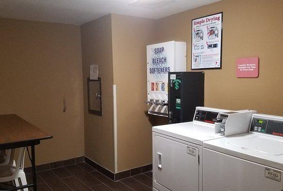 Sleep Inn And Suites: 24 hr Laundry Available