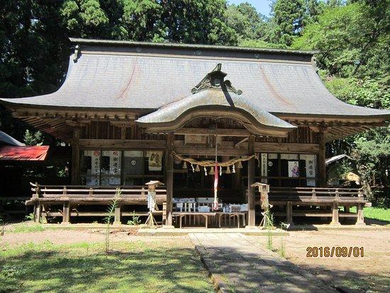 Tanagura-machi, اليابان: 拝殿です