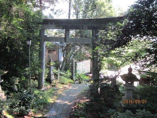 Tanagura-machi, Japan: 第2鳥居