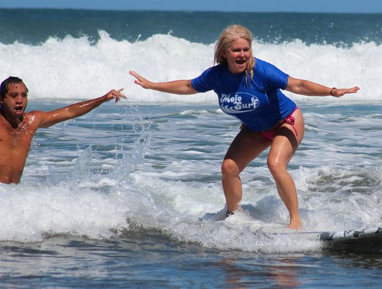 Playa Grande, Costa Rica: Awesome surf day with Mojo Surf