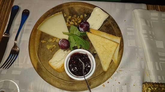 Le cabanon : fromage