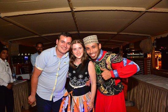Alexandra Dhow Cruise Dubai Marina: Tanura dance