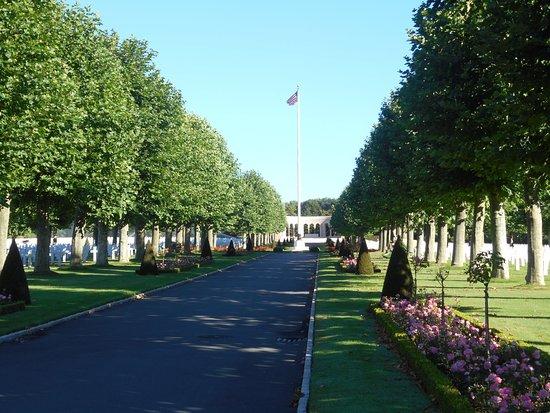 Fere-en-Tardenois, فرنسا: L'allée principale