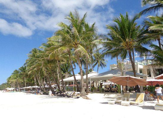 The District Boracay: photo from the hotel beach area