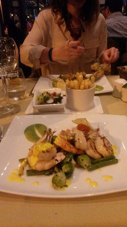 Pure Passion Restaurant Beautiful dinner plates & Beautiful dinner plates - Picture of Pure Passion Restaurant Agadir ...