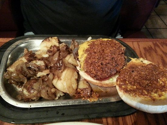Kingsman Restaurant Chili Cheese Burger And Taz S Taters