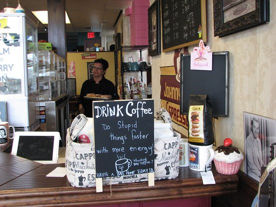 Johnny Como's Cupcakes and Coffee: Truth