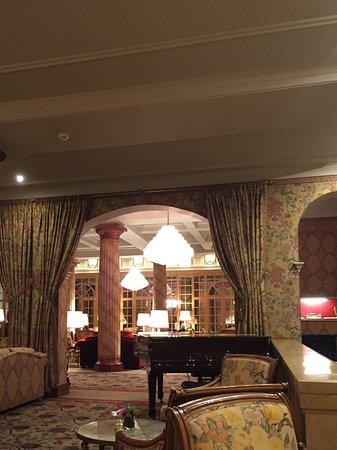 Kulm Hotel St. Moritz: Lounge