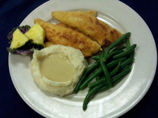 เซนต์แคลร์, มิชิแกน: Perch Dinner - best menu item