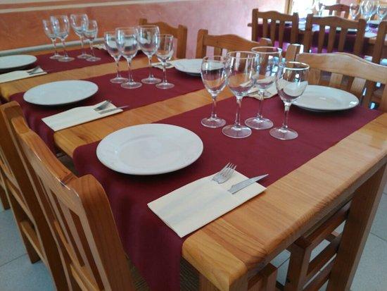 Sant Feliu de Pallerols, สเปน: Can Corominas Restaurant