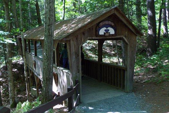 Rumney, NH: Cute covered bridge