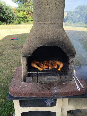 Le Domaine de Loustalviel: Barbecue
